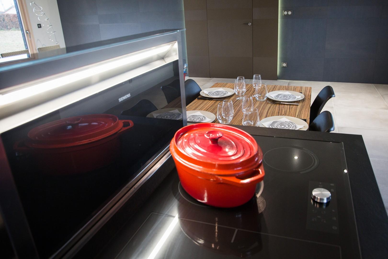 Cuisine aménagée contemporaine
